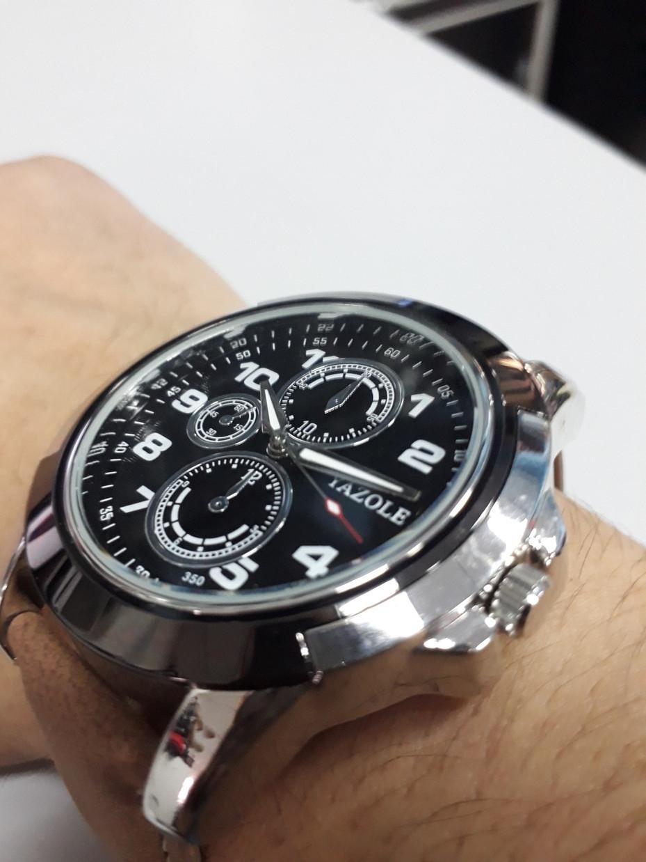 Стильные часы Yazole 350. Рассрочка. Kaspi RED.