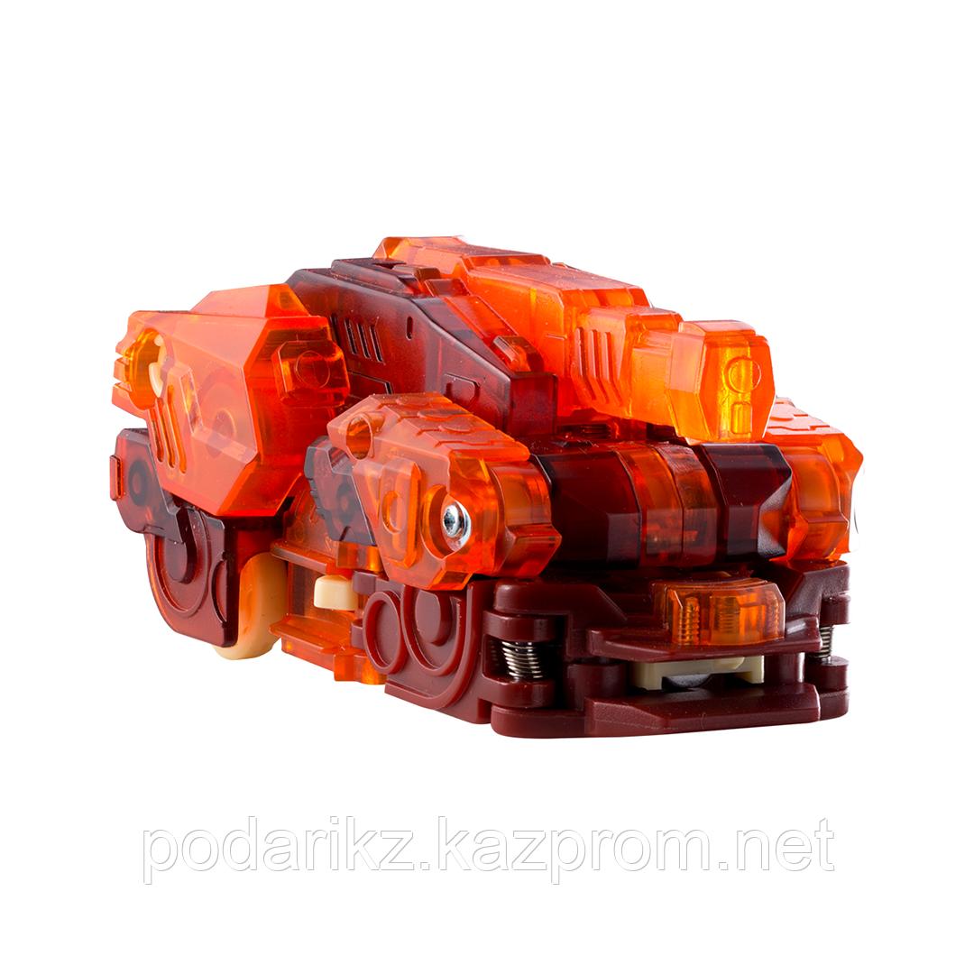 Машинка-трансформер Screechers Wild Дикие Скричеры Спайкстрип оранжевая L 2 - фото 1