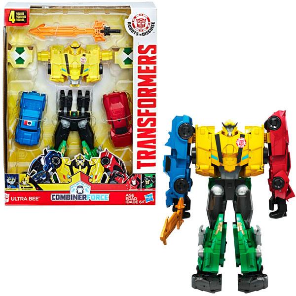 Игрушка Hasbro Трансформеры (Transformers) РОБОТЫ ПОД ПРИКРЫТИЕМ: Тим-Комбайнер