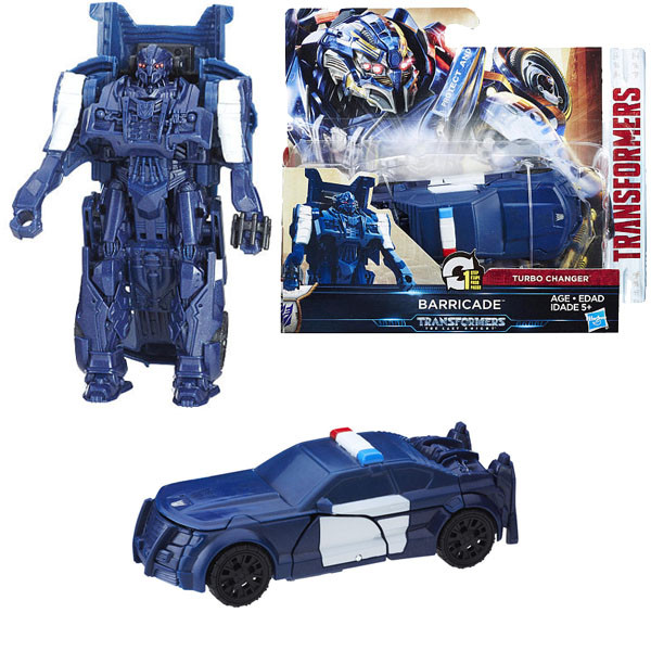 Игрушка Hasbro Трансформеры (Transformers) ТРАНСФОРМЕРЫ 5: Уан-степ Баррикейд