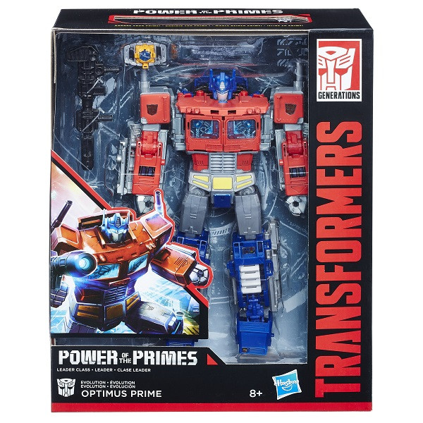 "Игрушка Hasbro Трансформеры (Transformers) ДЖЕНЕРЕЙШНЗ ЛИДЕР ""Оптимус прайм"""