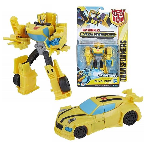 ИгрушкаHasbro Трансформеры (Transformers) КИБЕРВСЕЛЕННАЯ 14 см Бамблби