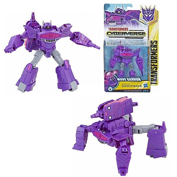 ИгрушкаHasbro Трансформеры (Transformers) КИБЕРВСЕЛЕННАЯ 14 см Шоквейв