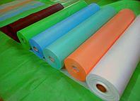 Нетканый материал в рулонах без перфорации плотность 40 г/кв.м, ширина рулона 0,8 м, 200 п.г