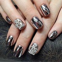 Маникюр Metallic Nails!