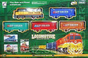 Железная дорога RAIL KING (150 см на 120 см).