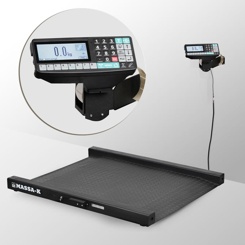 Весы низкопрофильные с печатью этикеток 4D-LM-2_RP