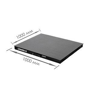 Весы платформенные 4D-PM-1_AВ, фото 2