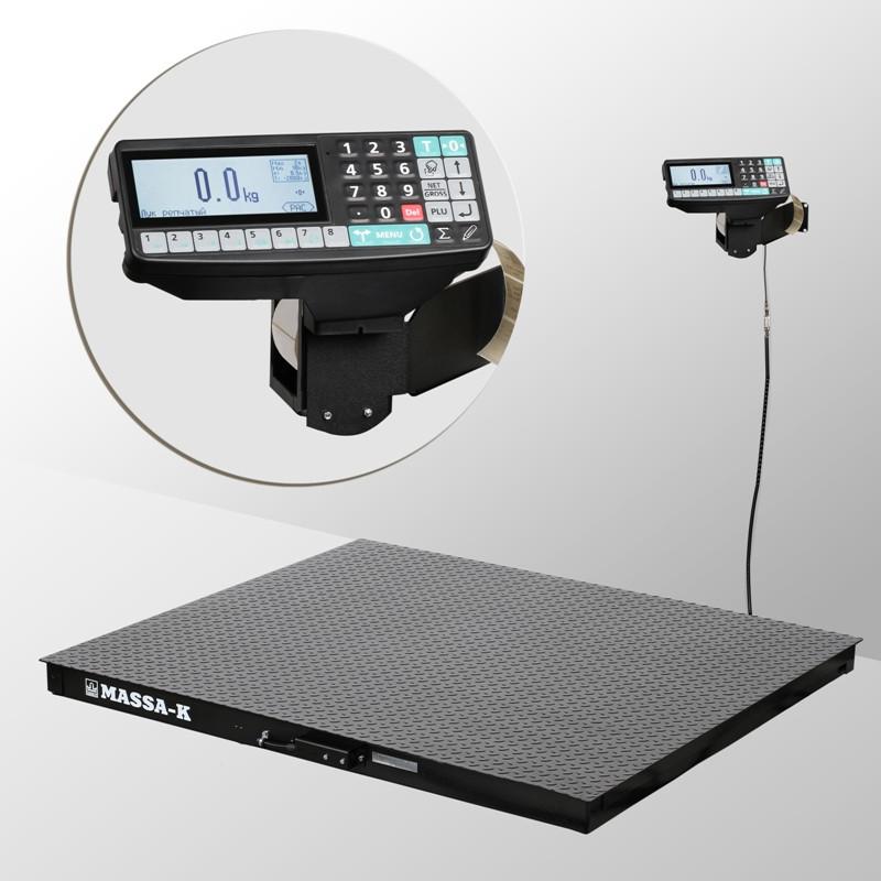 Весы платформенные с печатью этикеток 4D-PM-7_RP