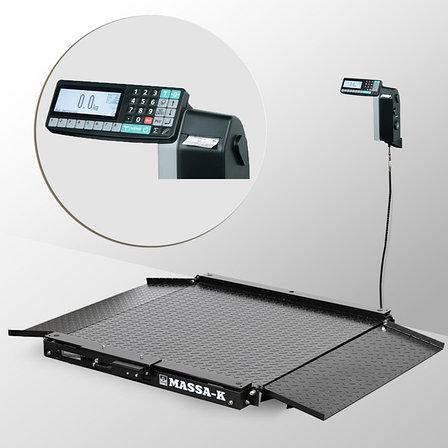 Весы низкопрофильные с печатью этикеток 4D-LA-2_RL, фото 2