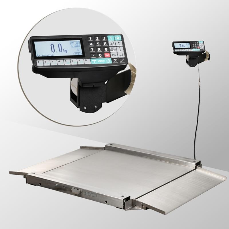 Весы низкопрофильные с печатью этикеток 4D-LA.S-2_RP