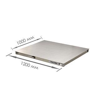 Весы платформенные с печатью чеков 4D-P.S-2_RС, фото 2