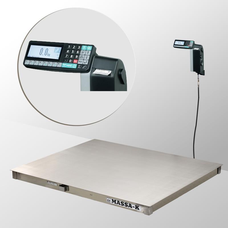 Весы платформенные с печатью этикеток 4D-P.S-2_RL
