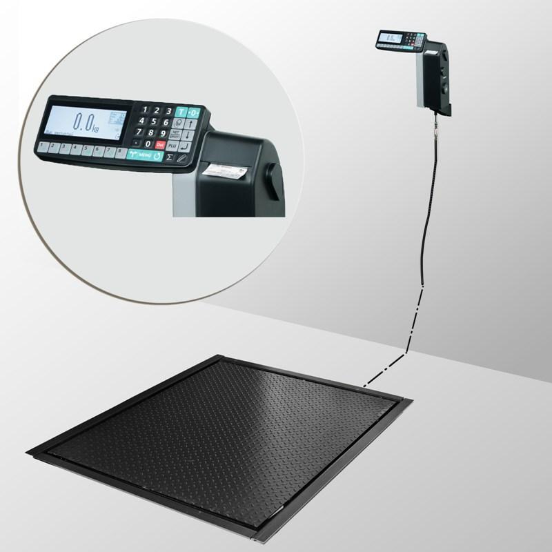 Весы врезные с печатью этикеток 4D-PMF-3_RL