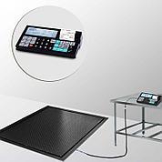 Весы врезные с печатью чеков и отчетов 4D-PMF-7-3000-RC