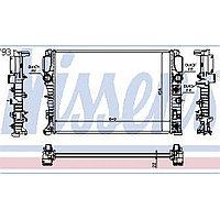 Радиатор MERCEDES CLS-CLASS W 219 211 (04-) CLS 280 (+)