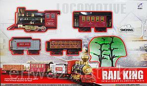 Железная дорога RAIL KING (86 см * 148 см)