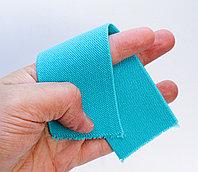 Лента эластичная, голубая, ширина 5 см
