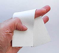 Лента эластичная, белая, ширина 5 см, фото 1