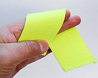 Лента эластичная, желтая, ширина 5 см