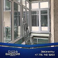 Застеклить балкон Астана