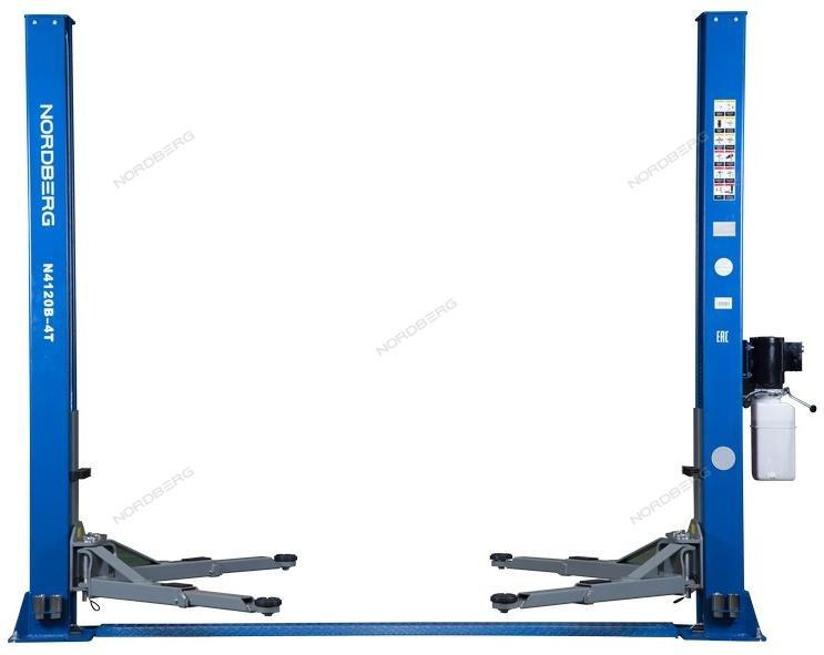 Подъемник двухстоечный, г/п 4т (220В)