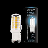 Лампа GAUSS LED G9 AC185-265V 4100K