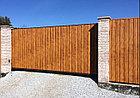Металлические ворота консольные, фото 3