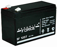 Аккумулятор для систем безопасности Security Force SF 1207 (12В, 7Ач)