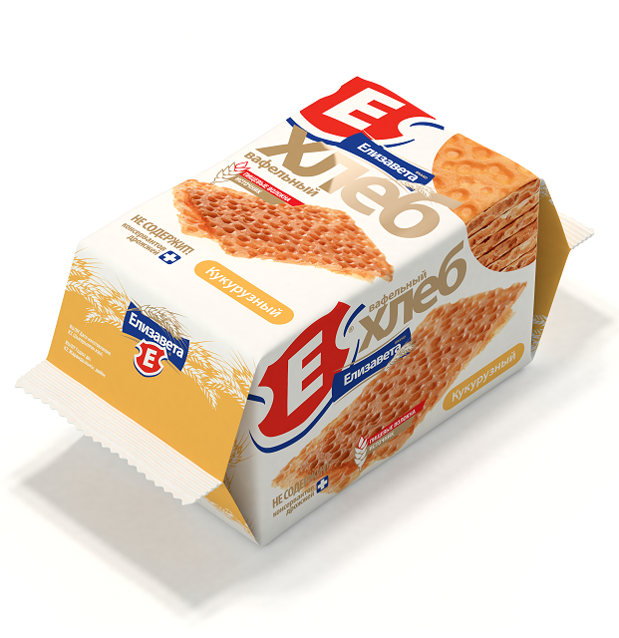 Хлебцы хрустящие «Вафельный хлеб «Елизавета» кукурузный