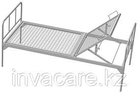 Кровать функциональная общебольничная с подголовником, без колес, Волгамедикал