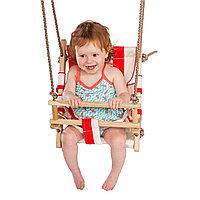 Качели полотняное детское сиденье, фото 1