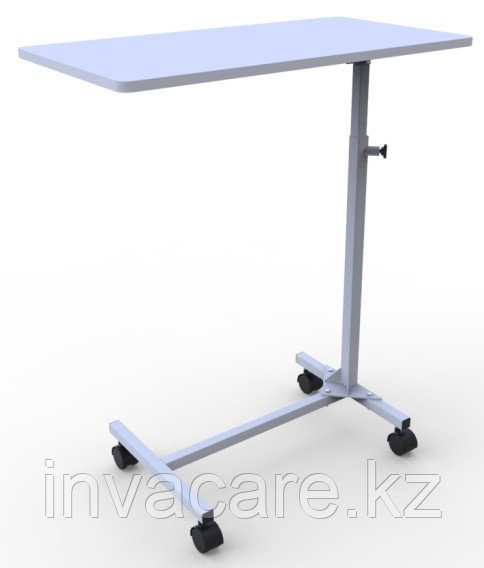Стол прикроватный (столешница ламинированная ДСП) с мебельными колесами, Волгамедикал