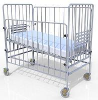 Кровать функциональная детская в комплекте с матрацем, Волгамедикал