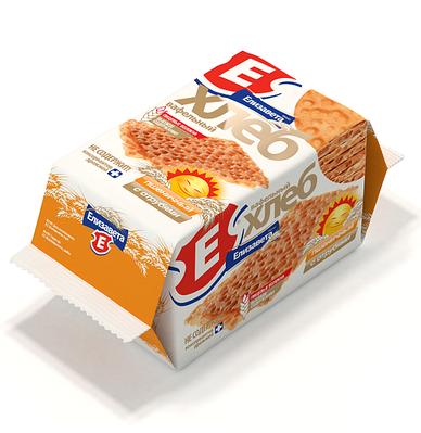 Хлебцы хрустящие «Вафельный хлеб «Елизавета» пшеничный с отрубями