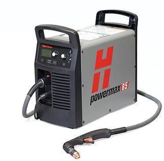 Установка для ручной плазменной резки Hypertherm Powermax 85 без порта CPC, резак 75° 15,2 м