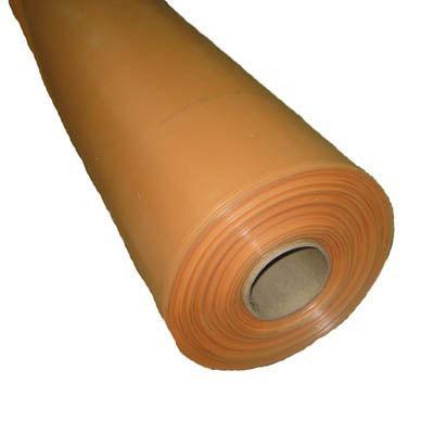 Пленка полиэтиленовая, 100 мкр, 1кг=2,2м,  (цвет: оранжевая , в бухте по 75кг)