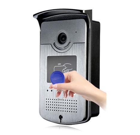 Вызывная панель видео домофона Стражник RFID 520-1, металл