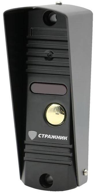 Вызывная панель видеодомофона Стражник CP-1MP-AHD, металл