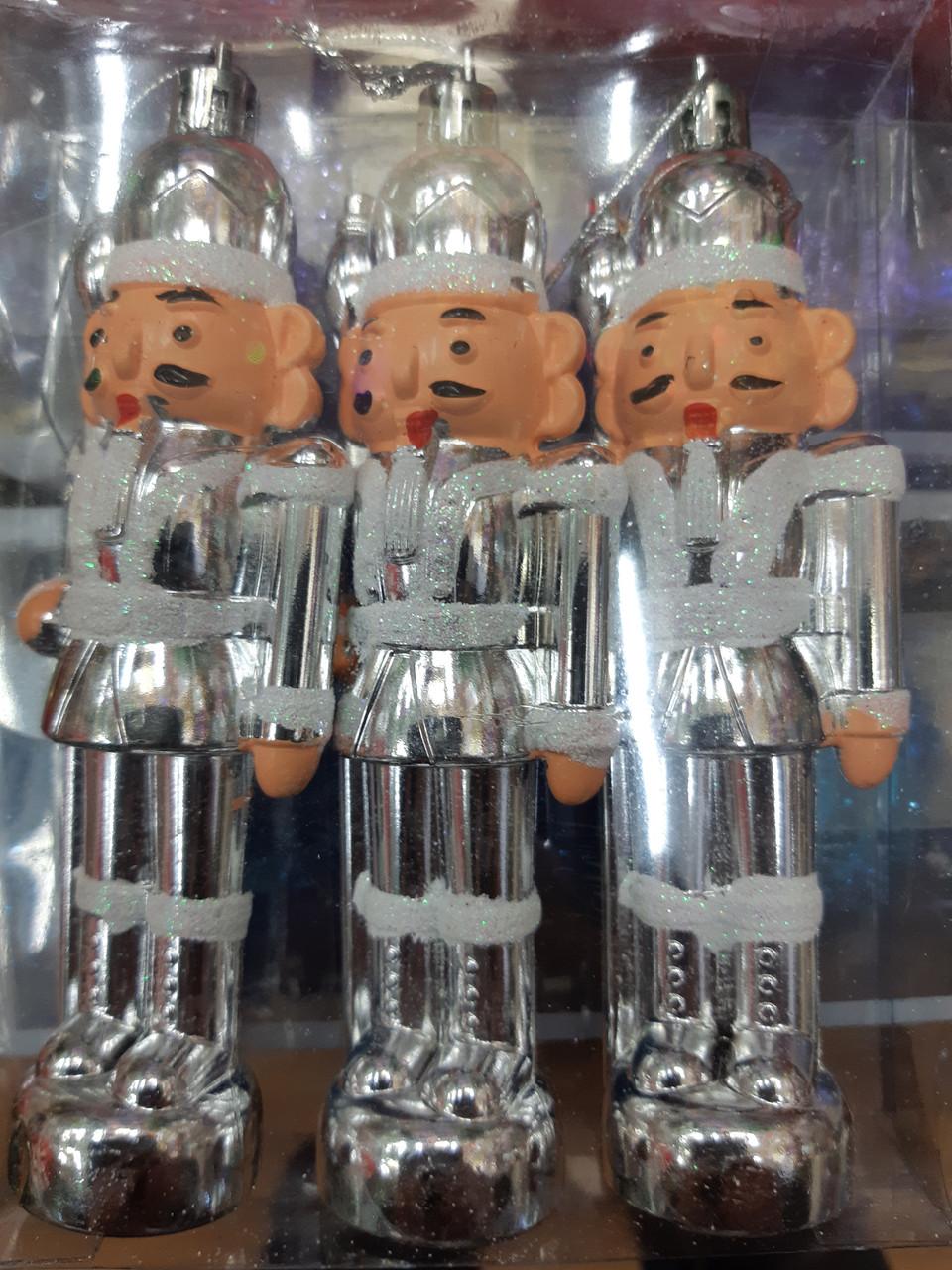 """Набор новогодних игрушек  """"Солдатики"""""""