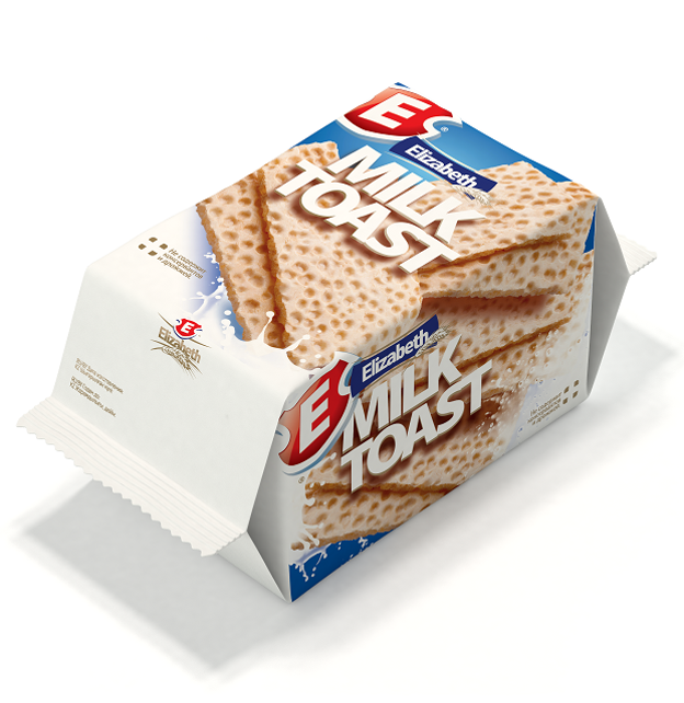 Вафли сдобные с молоком «Milk Toast» Елизавета