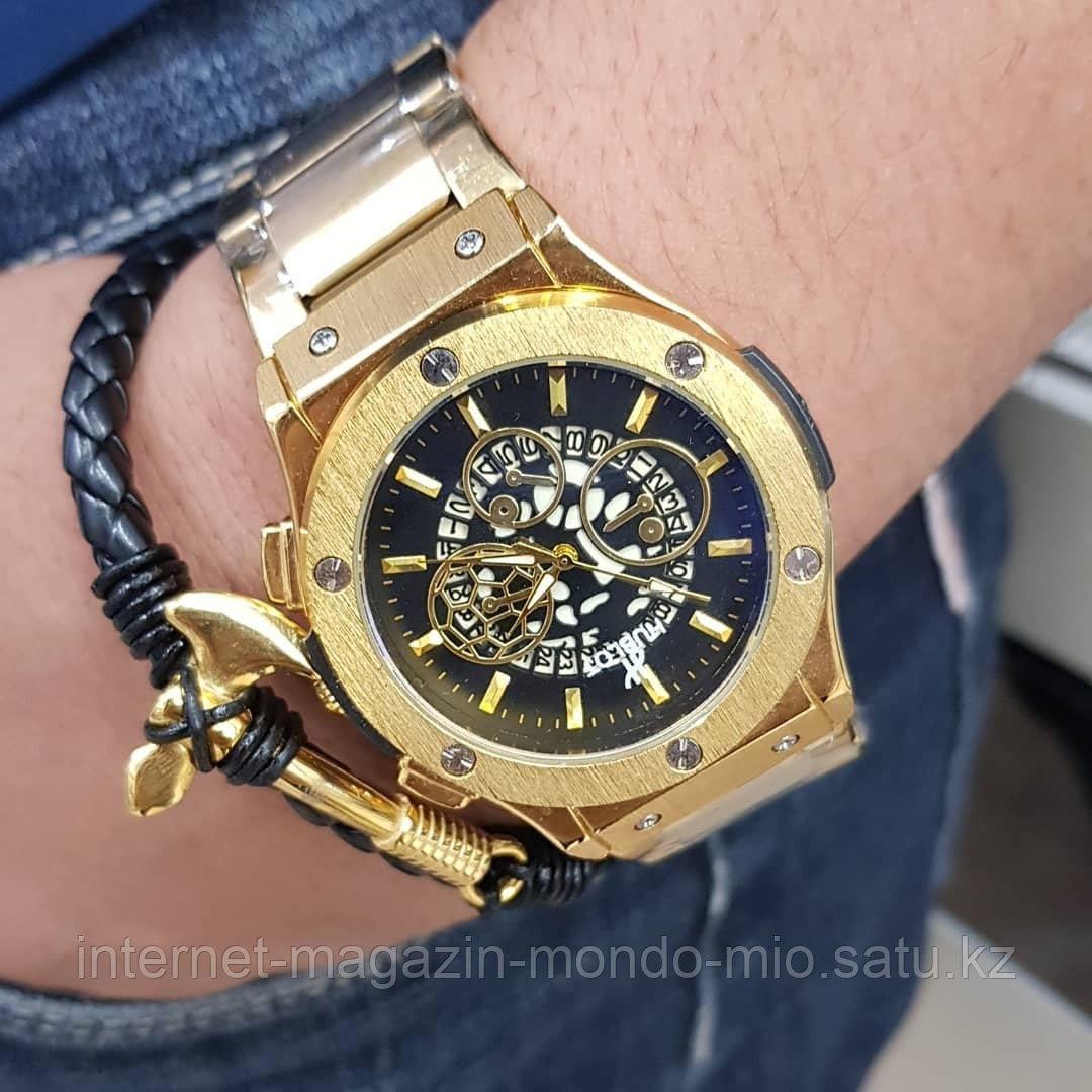 Дерзкие мужские наборы Часы и браслет