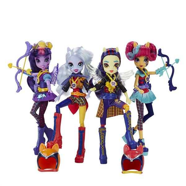 Игрушка Hasbro My Little Pony Equestria Girls (Девочки из Эквестрии) кукла спорт Темномолнии