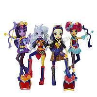 Игрушка Hasbro My Little Pony Equestria Girls (Девочки из Эквестрии) кукла спорт Темномолнии, фото 1