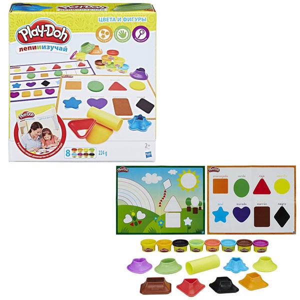 Игрушка Hasbro Play-Doh (Плей-До) Игровой набор ЦВЕТА И ФОРМЫ