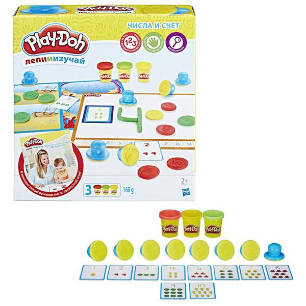 Игрушка Hasbro Play-Doh (Плей-До) Игровой набор ЦИФРЫ И ЧИСЛА