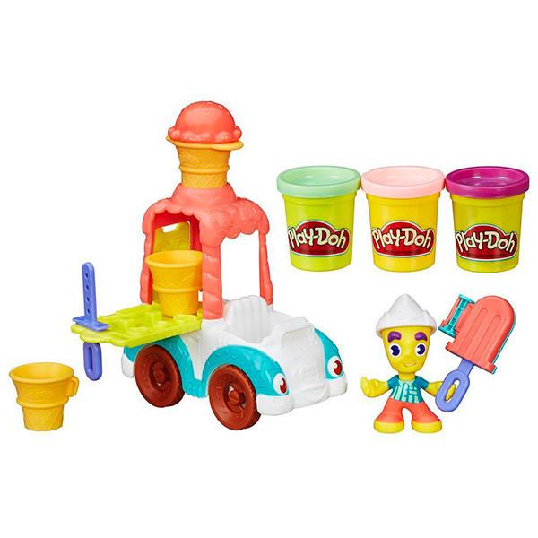 """Игрушка Hasbro Play-Doh (Плей-До) Игровой набор Город """"Грузовичок с мороженым"""""""