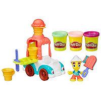 """Игрушка Hasbro Play-Doh (Плей-До) Игровой набор Город """"Грузовичок с мороженым"""", фото 1"""
