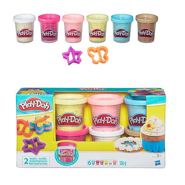 Игрушка Hasbro Play-Doh (Плей-До) Игровой набор из 6 баночек с конфетти