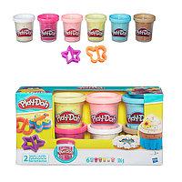 Игрушка Hasbro Play-Doh (Плей-До) Игровой набор из 6 баночек с конфетти, фото 1